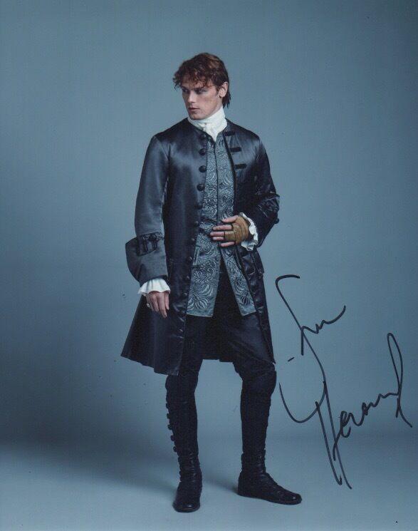 Sam Heughan Outlander Autographed Signed 8x10 Photo COA #4