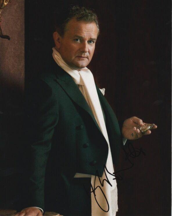 Hugh Bonneville Downton Abbey Autographed Signed 8x10 Photo COA D