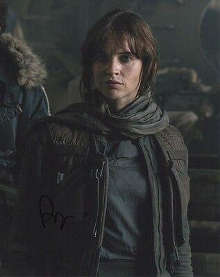 Felicity Jones Rogue One Autographed Signed 8X10 Photo Coa  4