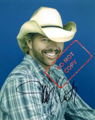 "Toby Keith 8x10 Signed Autograph Reprint ""Mint"" {FREE SHIPPING}"