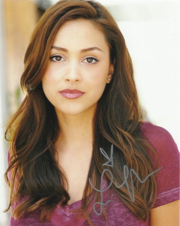 Lindsey Morgan The 100 Signed Autographed 8x10 Photo COA