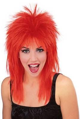 Diva Punk Rock Wig Super Star Wig Tina Turner Costume Wig  1980s 50721](Tina Turner Costume)