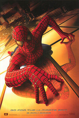 Spider-Man Original Single-Sided Advance Rolled Movie Poster 27 x 40 NEW 2002