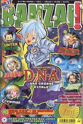 Carlsen Comics - BANZAI! Nr. 17 - März.2003 (Heft 17 von 50)