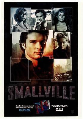 SMALLVILLE (TV) Movie POSTER 27x40 Tom Welling Kristin Kreuk Michael Rosenbaum