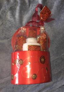 NEW: Pure Passion Cranberry Bath Gift Set