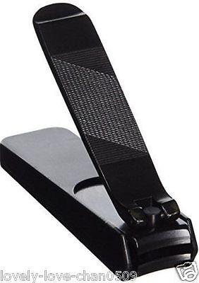 Japanese Kiya Steel Nail Clipper Large Black