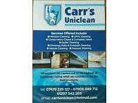 Windows, Gutters, UPVC, Conservatory cleaning