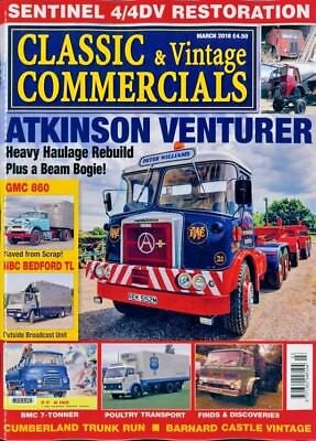 CLASSIC & VINTAGE COMMERCIALS MAGAZINE MARCH 2018 ~ NEW ~