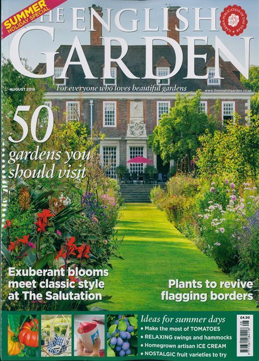 The English Garden Magazine Issue August 2018 New Ebay