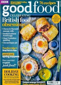 BBC GOOD FOOD MAGAZINE ISSUE APRIL 2018 ~ CELEBRATING BRITISH FOOD OBSESSIONS ~