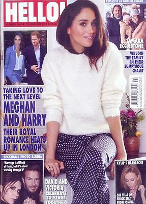 Hello  Magazine   February 2017 Prince Harry Meghan Markle Jamie Dornan Kylie