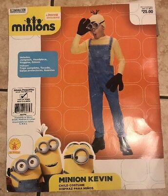 Despicable Me Minion Kevin Child (Small 4-6) Boys Halloween Costume