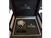 Chanel watch boxed with papers