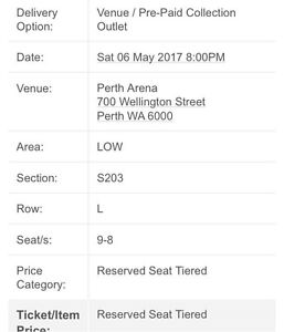 2 x carl Barron tickets Armadale Armadale Area Preview