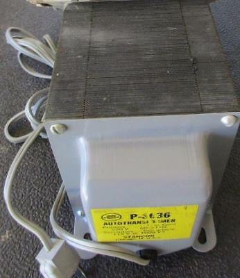 P-8636 Stancor Transformer Step Down Primary 230v Sec 115v Output 1000 Va