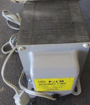 P-8636 Stancor Transformer Step Down Primary 230v Sec 115v Output 1000 Va