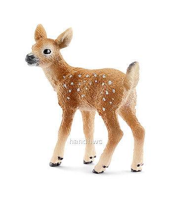 Schleich 14711 White-tailed Deer Fawn Toy Wild Animal Figurine - NIP