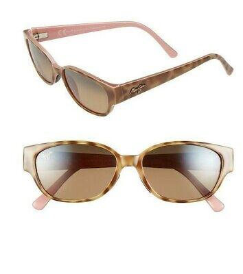 New Maui Jim Polarized Sunglasses Rectangular Anini Beach Tortoise HCL Bronze (Maui Jim Sunglasses Women)