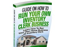 Ebook Guide on How to run an inventory clerk business