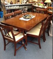 KNECHTEL TABLE & CHAIRS SALE MISSISSAUGA VINTAGE COLLECTIBLES