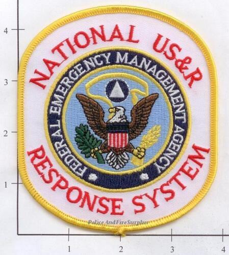 United States - FEMA National US&R Response System Fire Dept Patch v1