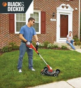 NEW 20V TRIMMER LAWN MOWER MTC220 236602485 BLACK  DECKER LITHIUM ION CORDLESS 3 IN  1