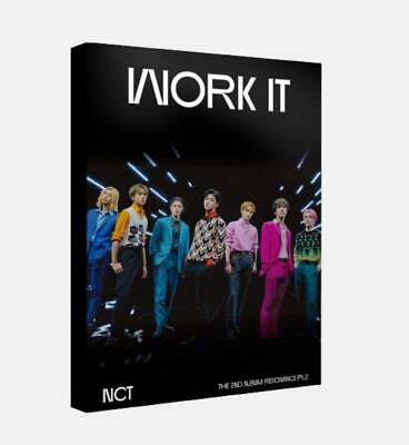 NCT SMTOWN OFFICIAL GOODS Work It POSTCARD BOOK SEALED