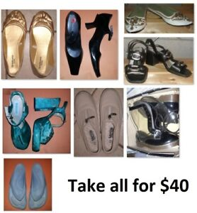 Size 7 Ladies Shoes Lot (Take all for $40)