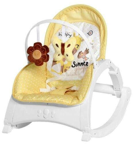 Lorelli Enjoy Yellow Giraffe Baby Rocker Wipstoel 1011011...