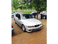 Bmw 520i m sport (TV on seats)