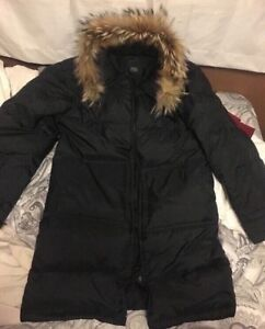 Women's Milano Street Authentic Fur Winter Parka