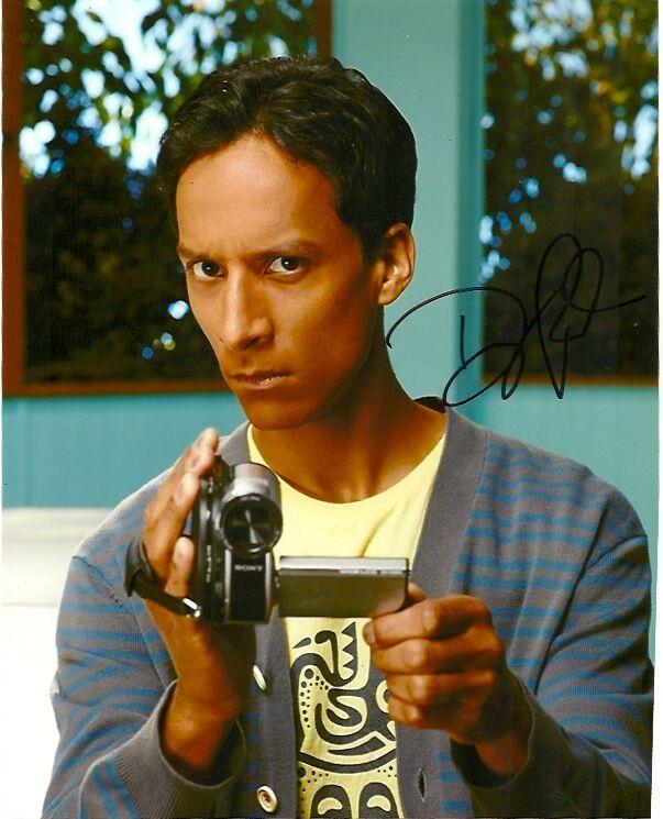 Community Danny Pudi Autographed Signed 8x10 Photo COA