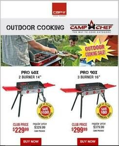 Camp chef stoves / Outdoor cooking / Camping stoves - Cap-it