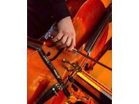 Cello/strings for your music.