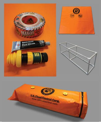 Tiger Dam Homeowners Unit Kit ORANGE FREE SHIPPING Tools & Home Improvement