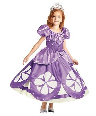 New The Ultimate Chasing Fireflies Disney's Princess Sophia the First size 4-6](Princess Sophia Costumes)