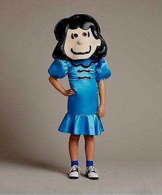 BNIB Designer Girls Wishcraft Peanuts LUCY Costume Size 4 - Peanuts Lucy Costume