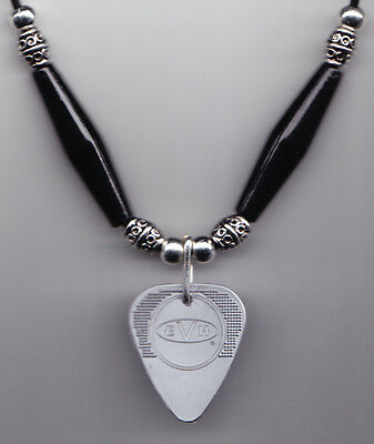 Eddie Van Halen Silver Herco Guitar Pick Necklace 2008
