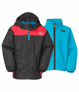 Multicouches stormy rain The North Face 3T et 4T (triclimate)