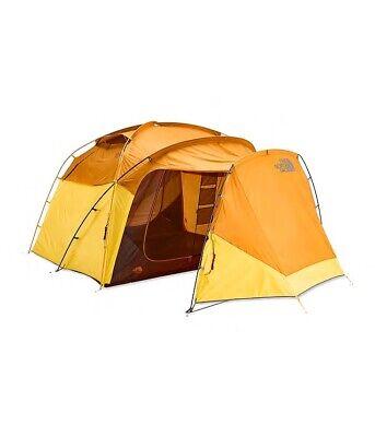 The North Face Wawona 6 Person Tent Golden Oak/Saffron Yellow- Brand New