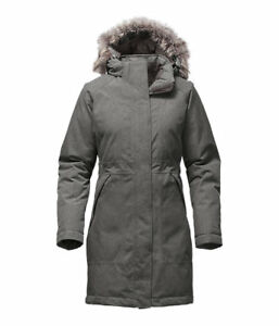 THE NORTH FACE Women's Arctic Parka Heather Grey (Size Small)