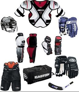 Equipement dhockey complet  a vendre pas cher!!