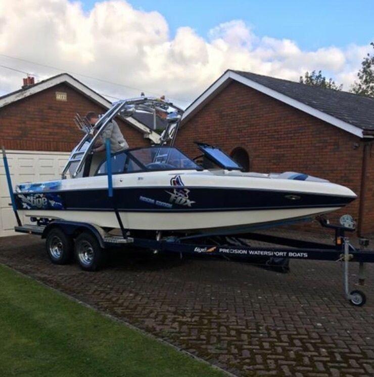 Tige 21i Riders Edition wakeboard boat 2001
