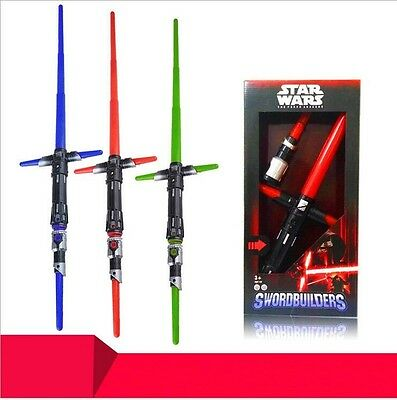 Star Wars Kylo Ren Lichtschwert Space Battle super light sword Swordbuilders Neu