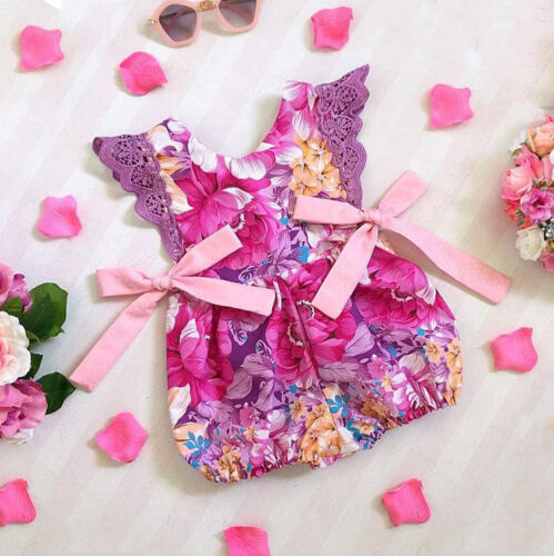 us summer baby girl infant flower ruffle