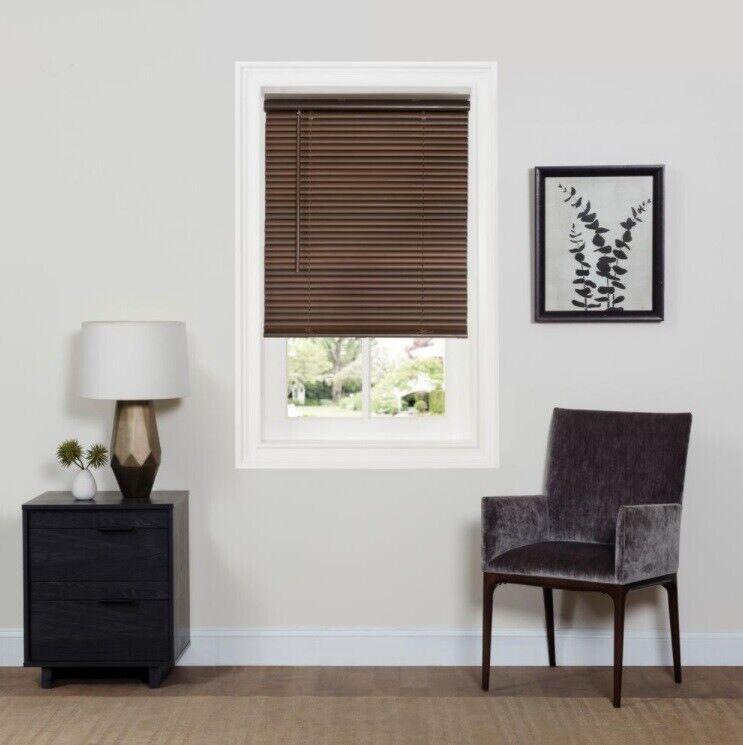 Achim Home Furnishings Cordless Gii Deluxe Sundown 1 Room Darkening Mini Blind For Sale Ebay