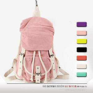 Fashion-Casual-Canvas-Womens-Bags-Girls-Schoolbag-Handbag-Bookbags-Backpacks-H01