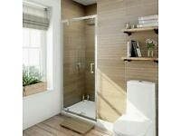 Shower door pivot 1000mm Victoria plum
