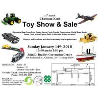 17th Annual Chatham-Kent Toy Show & Sale